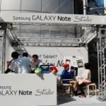 GALAXY Note Studioで端末にふれてきた!似顔絵コーナーもあり!