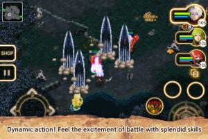 イノティア戦記4 戦闘シーン