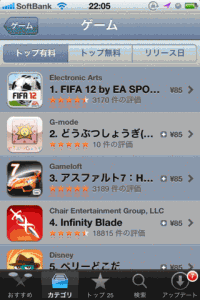 App Storeランキング