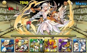 ダンジョンの最奥で待つのは「白盾の女神・ヴァルキリー」