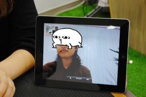 沖縄のアプリカラボにいる荒ぶるホモォさん。今回はface timeでインタビューに参加いただいた。