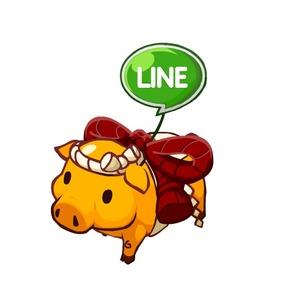 リリース記念「LINE 黄金のぶた」をプレゼント!