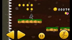 ジャンプでコイン