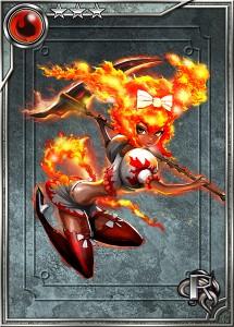 レア「炎の仙女」