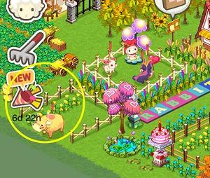 ▲イベントクエストは画面左のクラッカーアイコンから確認できます。