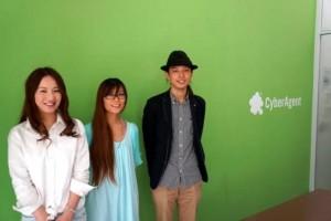 左からプロデューサーの横山祐果さん、  アートディレクターの諸岡早苗さん、ディレクターの田中一馬さん