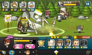 チームバトルオフェンスゲーム『ブレイブヒーロー』