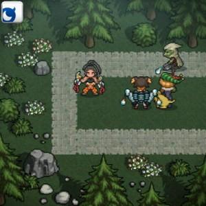 タワーディフェンス風のクエストには、 様々なフィールドと敵キャラが登場する。