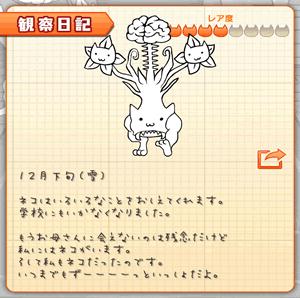 にゃんこハザード観察日記レア度4