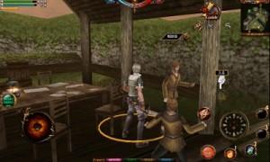 村の相談役。彼から村のお手伝い的なクエストを受注できる。後ろから村人に殴りかかられているのは別の村人を斬ってしまったからだ・・・。