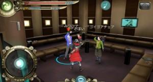 3人まででパーティー戦闘が可能、友達が同時参加で遊べない時でも虚身というAIプレイで遊べるので、いつでも自分の好きな時間にキャラを育てられる。