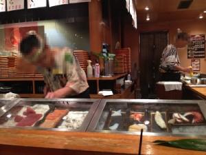 寿司職人さん。