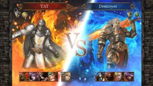 特徴1:Battle:タクティカルバトル