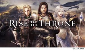 新型ストラテジーゲーム『Rise to the Throne』