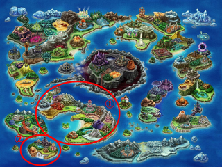グランガイアを彩るワールドマップを公開!