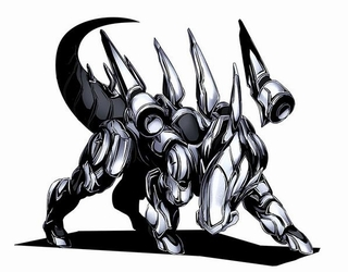 圧倒的躍動力の自立兵器「ウロボロス」