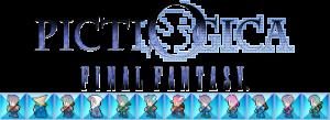 FFのドット絵がパズルになった『ピクトロジカ ファイナルファンタジー』