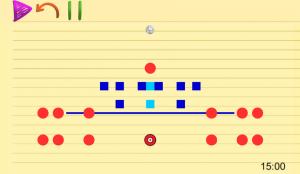 指で書いた絵でボールを動かす物理パズル。