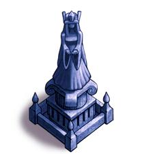 女神の石像