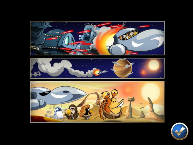 Angry Birds Star Wars II(アングリーバードスターウォーズ2)攻略画像ESCAPE TO TATOOINE