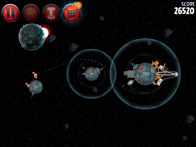 Angry Birds Star Wars II(アングリーバードスターウォーズ2)攻略画像Naboo Invasion P-1-13攻略
