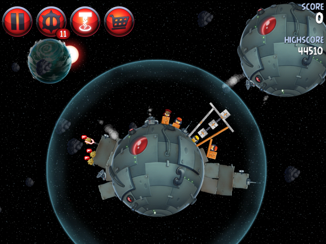 Angry Birds Star Wars II(アングリーバードスターウォーズ2)攻略画像Naboo Invasion P-1-12攻略
