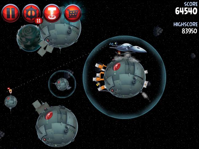 Angry Birds Star Wars II(アングリーバードスターウォーズ2)攻略画像Naboo Invasion P-1-20攻略