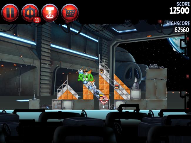 Angry Birds Star Wars II(アングリーバードスターウォーズ2)攻略画像Naboo Invasion P-1-6攻略