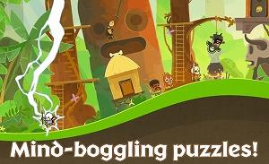 可愛らしい雰囲気のパズルゲーム!