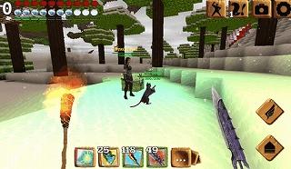 RPG要素のマインクラフト系ゲーム