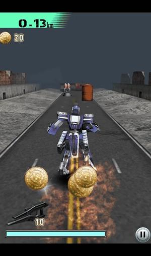 ロボット系ランアクション
