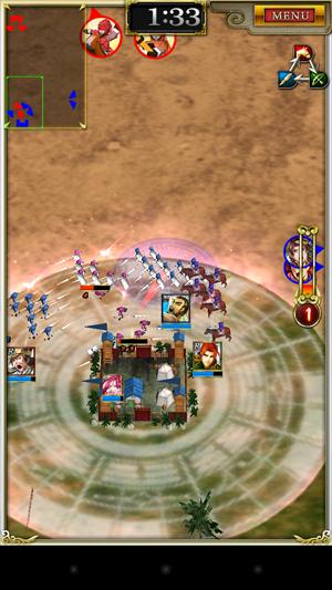 2部隊はずっと敵陣を守ってます!