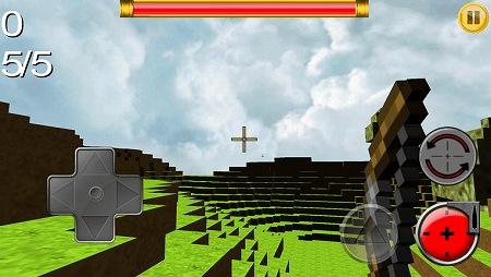 マインクラフト風アクションゲーム