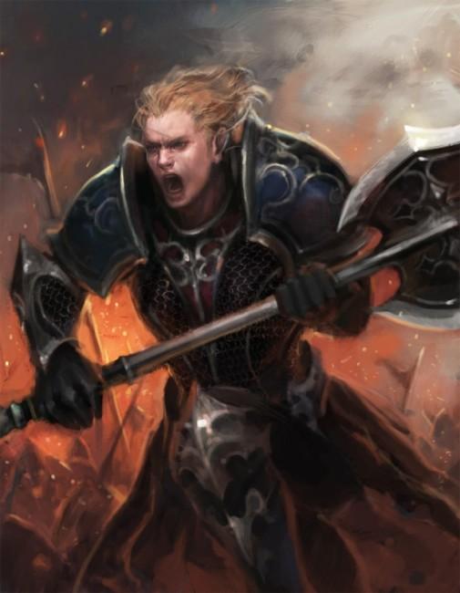 ホリス貴族戦士