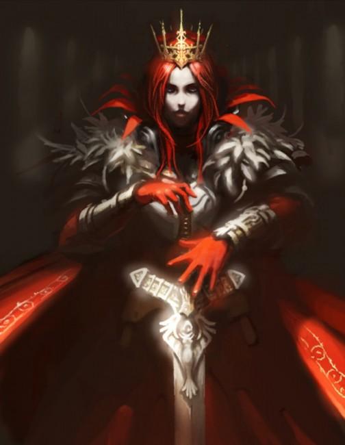 真紅の騎士
