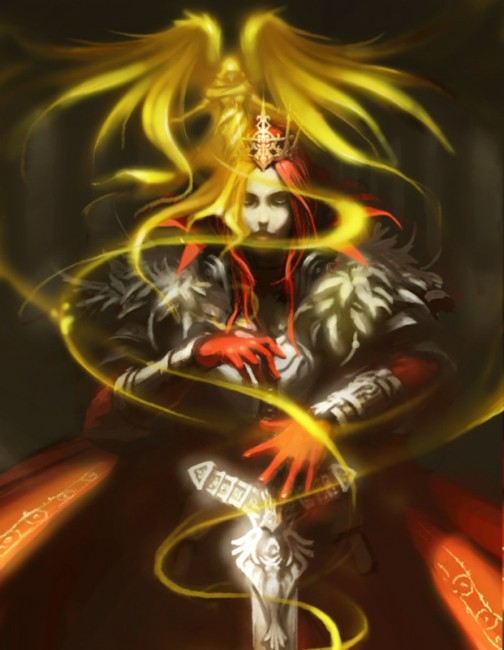 真紅の聖騎士