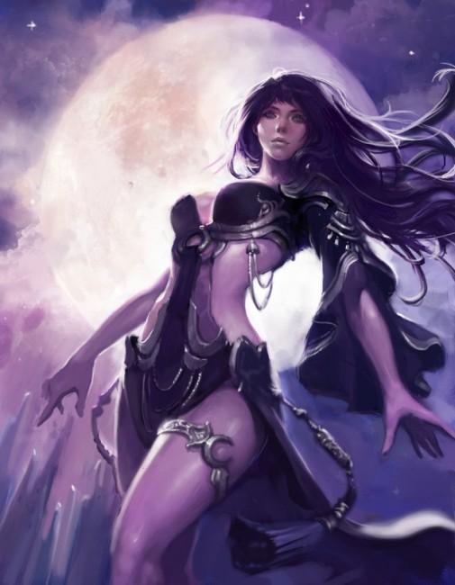 蒼き月の魔女