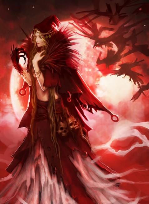 朱き月の魔女