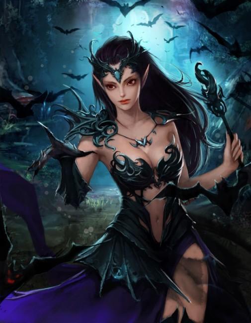 蝙蝠女王リリアカ
