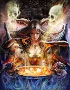 狂気の魔女フォルン