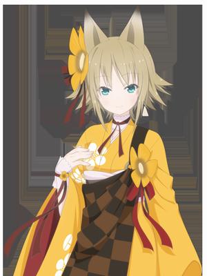 ゲームオリジナルキャラクター『迦具夜(かぐや)』