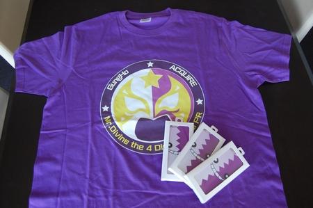 ディバインゲート特製Tシャツとスマホケースを3名様にプレゼント!