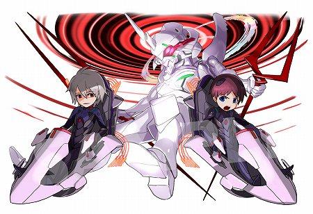 究極進化した「シンジ&カヲル&第13号機・覚醒」