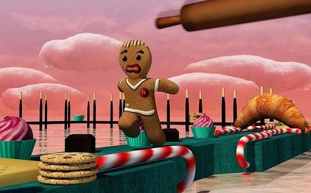 お菓子の世界でランアクション!