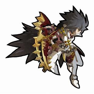 鎖に巻かれた剣が特徴的な光属性の剣ユニット
