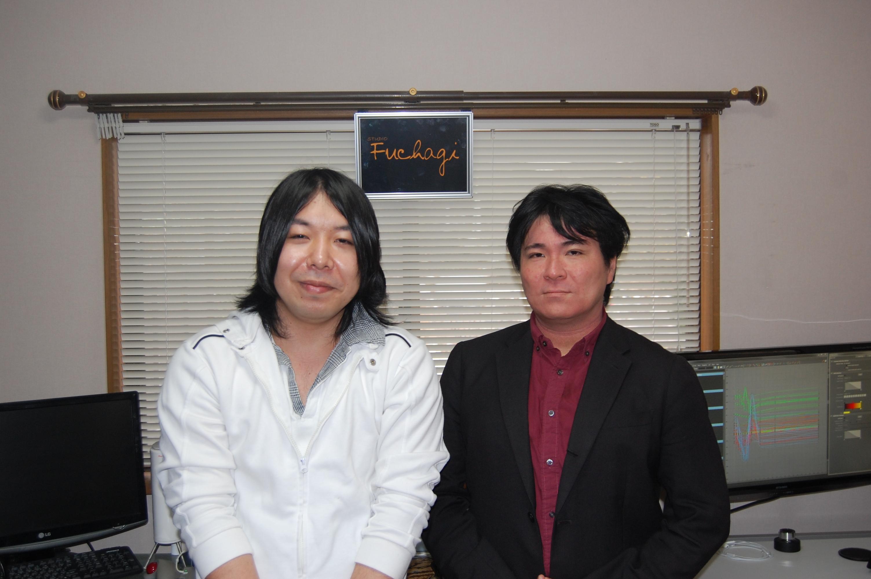合同会社Fuchagi  饒平名秀成氏(左)・澁谷康宏氏(右)