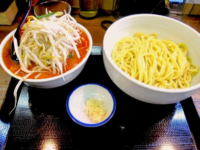 野方、味噌麺処花道、辛味噌つけ麺。|ラーメン魂スマホ版攻略