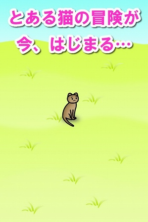 ネコの冒険がはじまる・・・!