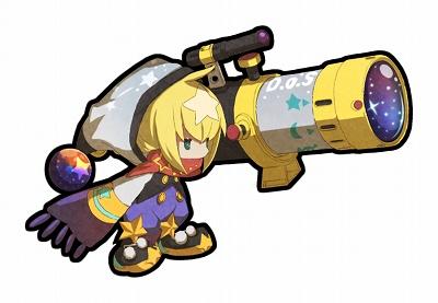 光属性・弓ユニット。もしかして手にしている望遠鏡が武器なのか?