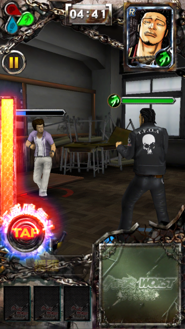 打威鳴舞斗アタックはまさに超必殺技。|クローズxWORST~打威鳴舞斗攻略